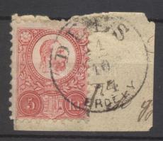 1871 Réznyomat 5kr DÉÉS / ERDÉLY