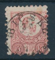 1871 Réznyomat 5kr BICSKE / (FEHÉR M.)