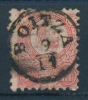 1871 Réznyomat 5kr / Mi 10 BOITZA