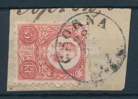 1871 Réznyomat 5kr CSORNA / SOPR.M.