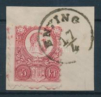 1871 Réznyomat 5kr ENYING