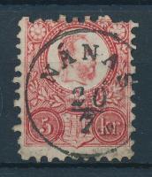 1871 Réznyomat 5kr NÁNAS