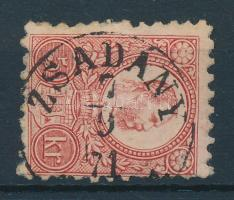 1871 Réznyomat 5kr / Mi 10 ZSADÁNY / (ABAUJ-M.)