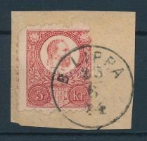 1871 Réznyomat 5kr B.LIPPA