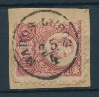1871 Réznyomat 5kr MAROS LUDOS