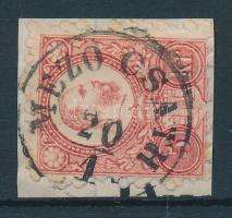 1871 Réznyomat 5kr MEZŐ CSATH