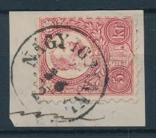 1871 Réznyomat 5kr / Mi 10 NAGY-IGMÁND