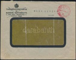 1946 (7. díjszabás) Levél készpénz bérmentesítéssel