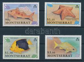 1991 Tengeri állatok sor Mi 795-798