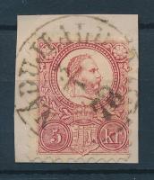 1871 Réznyomat 5kr / Mi 10 NÁDÚJFALU