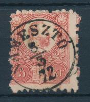 1871 Réznyomat 5kr / Mi 10 NÁMESZTÓ