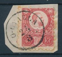 1871 Réznyomat 5kr Ó-GYALLA