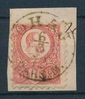 1871 Réznyomat 5kr / Mi 10 ÓHAJ / BARS. M.