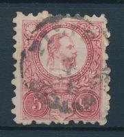 1871 Réznyomat 5kr PILIS