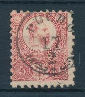 1871 Réznyomat 5kr / Mi 10 PUCHÓ