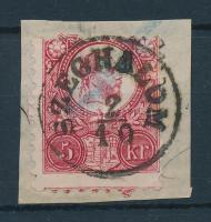 1871 Réznyomat 5kr SZEGHALOM