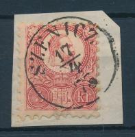 1871 Réznyomat 5kr SZENICZ