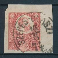 1871 Réznyomat 5kr / Mi 10 SZEPES-OLASZI
