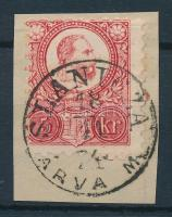 1871 Réznyomat 5kr / Mi 10 SLANICZA / ÁRVA M.