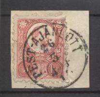 1871 Réznyomat 5kr PEST-AJÁNLOTT / 3-4