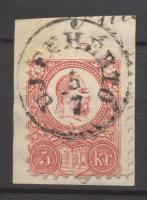 1871 Réznyomat 5kr UJFEHÉRTÓ