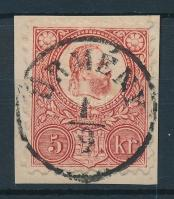 1871 Réznyomat 5kr / Mi 10 ÜRMÉNY
