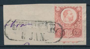 1871 Réznyomat 5kr / Mi 10 UNGHVÁR