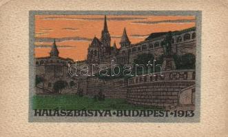 Budapest I. Halászbástya, A Magyar Földrajzi Intézet kiadása