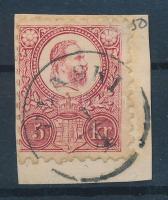1871 Réznyomat 5kr / Mi 10 PLASKI