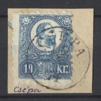 1871 Réznyomat 10kr CSÉPA