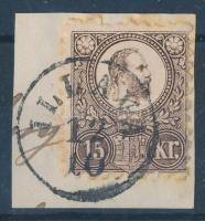 1871 Réznyomat 15kr ILLAVA