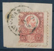 1871 Réznyomat 5kr NAGY-VÁZSONY