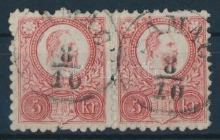 1871 Réznyomat 5kr pár SAMAC