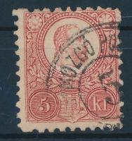 1871 Réznyomat 5kr MOZGÓ PO(STA) 5...