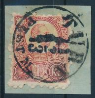 1871 Réznyomat 5kr TURA-PEST M.