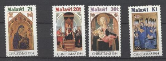 1984 Karácsony festmények sor Mi 437-440
