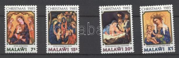 1985 Karácsonyi festmények sor Mi 457-460
