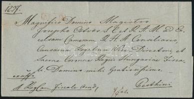 1845 Ex offo, piros / red ARAD - Pesthini
