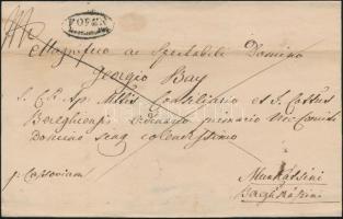 1825 Franco F.OFEN / Recomandirt - Munkátsini