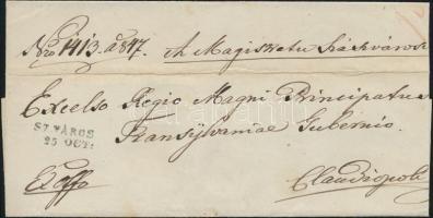 1847 Ex offo SZ.VÁROS - Claudiopolis
