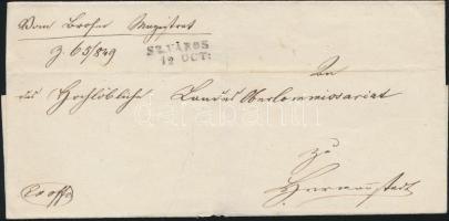 1849 Ex offo SZ.VÁROS - HERRMANNSTADT