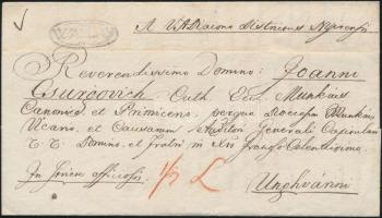 1832 Ex offo WALLAY - Unghvarini