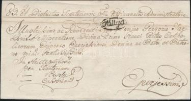 1828 Ex offo Tállya - Eperjessim