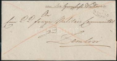 1824 Franco teljes tartalommal / with full content WUKOVAR - Zemlin