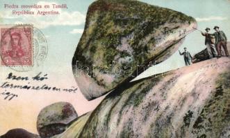 Tandil, Piedra Movediza / rolling stone