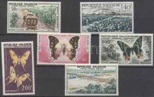 1960 Fauna, flóra és látnivalók sor Mi 455-460