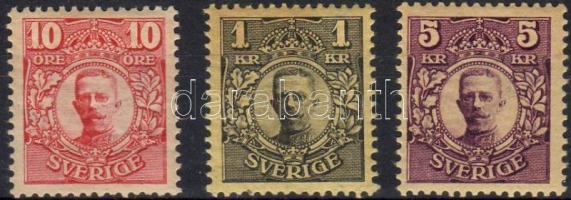 1910. Mi. 61-63