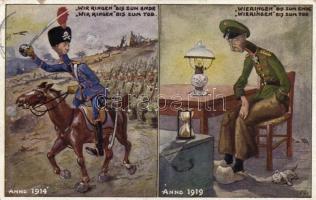 Anti-German military propaganda, 1914 vs 1919, Németellenes propaganda, 1914 vs 1919