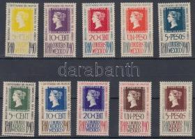 1940 100 éves a bélyeg sor Mi 781-790