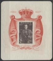 1947 Hercegi évforduló blokk Mi 2